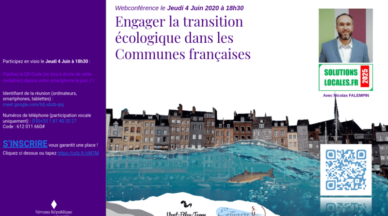 webconférence transition écologique